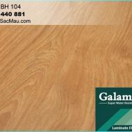 Sàn gỗ công nghiệp - sàn gỗ Galamax 8mm