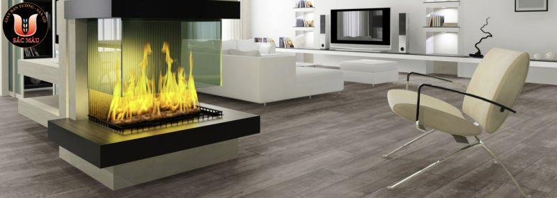 Sàn gỗ công nghiệp - Sàn gỗ Thaistar 8mm