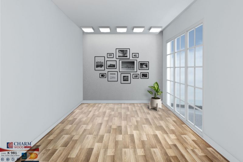 Sàn gỗ Charm Wood-Sàn gỗ chịu nước-Sàn gỗ công nghiệp