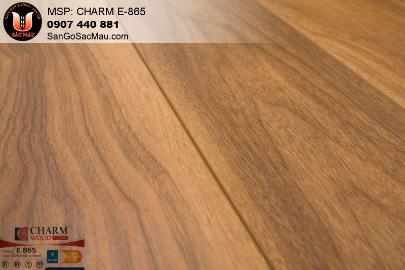 Sàn gỗ Charm Wood-Sàn gỗ chịu nước- Sàn gỗ công nghiệp
